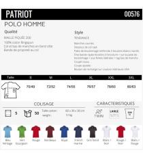 Polo Patriot Sol's