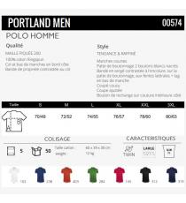 Polo Portland Men Sol's