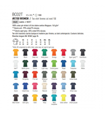 T-shirt BC02T E150 B&C