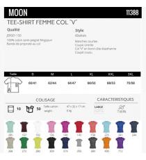T-shirt Moon Sol's
