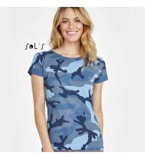 T-shirt Camo Women Sol's