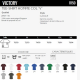 Informations T-shirt Victory Sol's