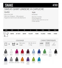 Sweat-shirt Snake Sol's
