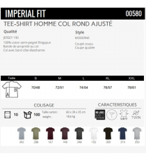 T-shirt Imperial Fit Sol's