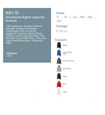 Doudoune K6110 Kariban