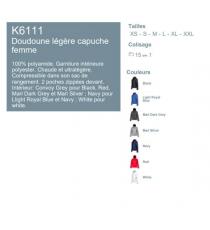 Doudoune K6111 Kariban