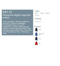 Doudoune K6112 Kariban