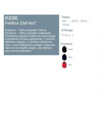 Parka enfant K696 Kariban