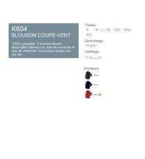 Blouson C-vent K604 Kariban