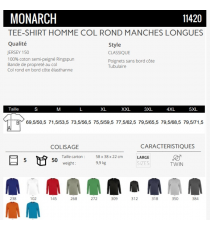 T-shirt Monarch Sol's