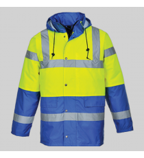 Parka HV S466 bicolore Traffic Portwest