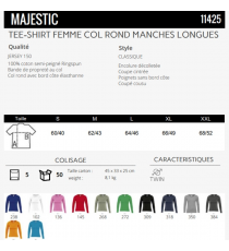 T-shirt Majestic Sol's