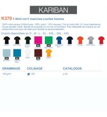 T-shirt K370 Kariban