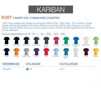T-shirt K357 Kariban