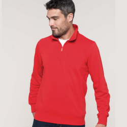 Sweat-shirt col zippé K487 Kariban