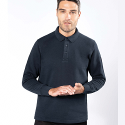 Sweat-shirt col polo K4000 Kariban