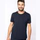 T-shirt K398 col bords francs BIO Kariban