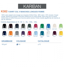 T-shirt K382 Kariban
