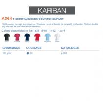 T-shirt K364 Kariban