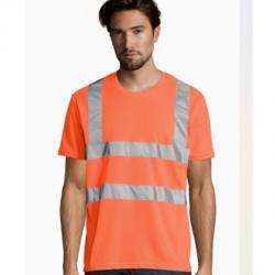 T-shirt Mercure pro haute visibilité