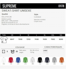Sweat-shirt Supreme Sol's
