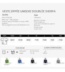 Sweat-shirt veste Sherpa Sol's