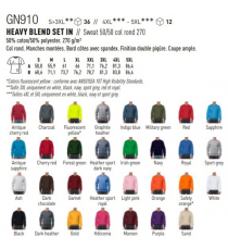 Sweat-shirt GN910 Gildan