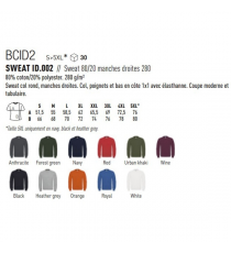 Sweat-shirt BCID2 B&C