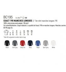 T-shirt BC195 B&C