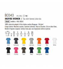 T-shirt BC043 B&C