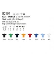 T-shirt BC191 B&C