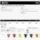 Informations T-shirt Match Sol's