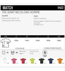 T-shirt Match Sol's