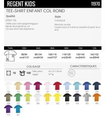 T-shirt Regent kids Sol's