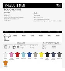Polo Prescott Men Sol's